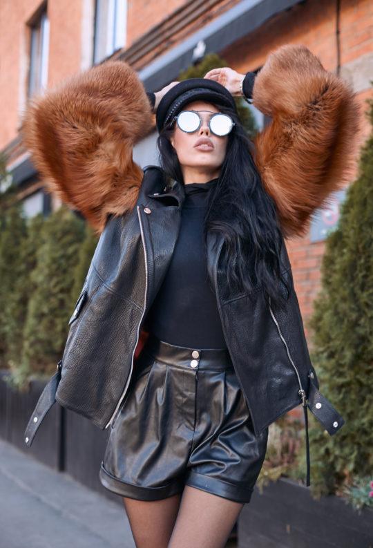 Куртка из финской лисы
