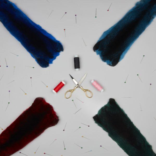 Шкурки шиншиллы Wanger — Цветная коллекция