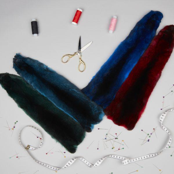 Шкурки шиншиллы Цветная коллекция
