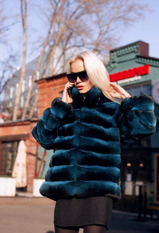 Шуба Turquoise Blue