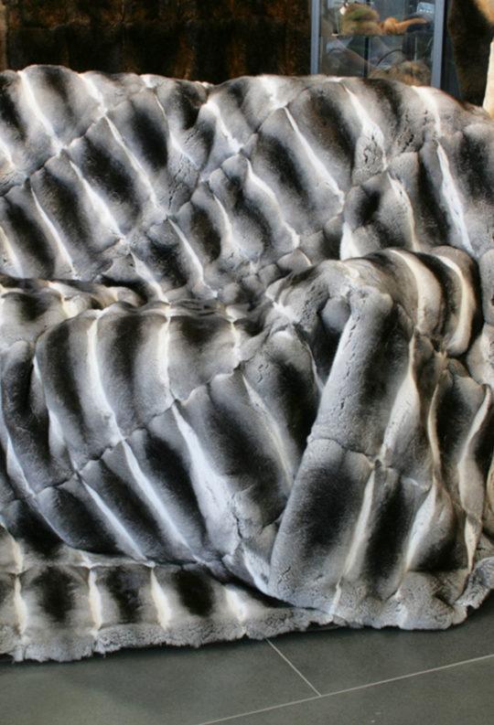 плед из шкуры